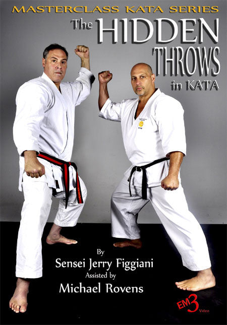 DVD Cover - Hidden Throws in Kata DVD by Jerry Figgiani