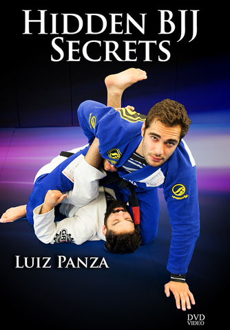 Hidden BJJ Secrets 4 DVD Set by Luiz Panza