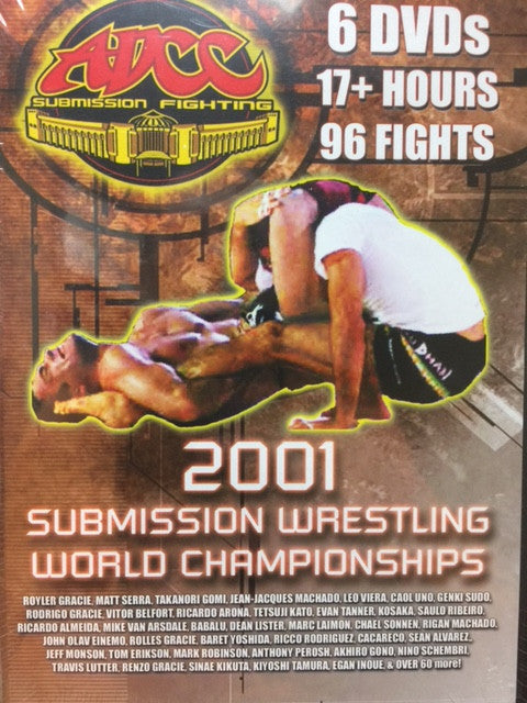 ADCC 2001 Submission Wrestling World Championships 6 DVD Set - Budovideos
