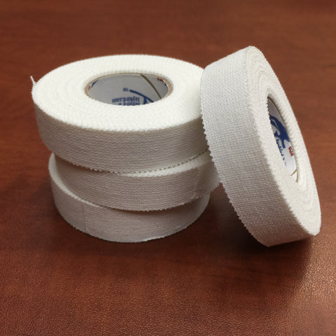 1/2 Inch Trainers Tape - White (4 pack) - Budovideos