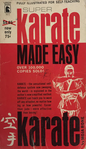 Super Karate Made Easy Book by Moja Rone (Preowned) - Budovideos Inc