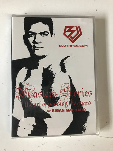 The Art of Passing the Guard DVD by Rigan Machado - Budovideos