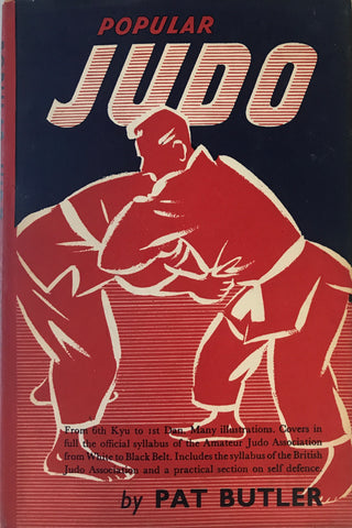 Popular Judo Book by Pat Butler (Hardcover) (Preowned) - Budovideos Inc