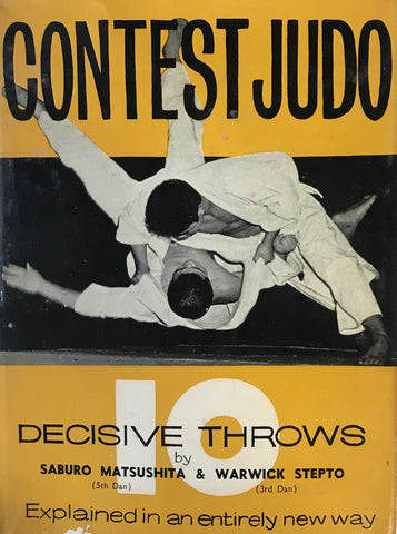 Contest Judo: 10 Decisive Throws Book by Saburo Matushita (Preowned) - Budovideos Inc