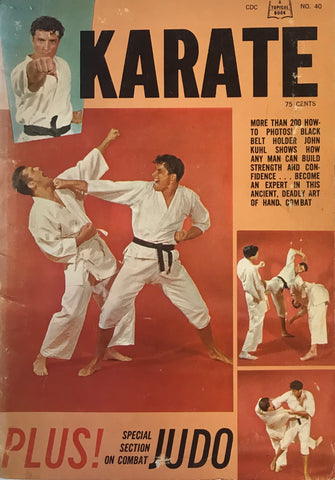 Karate Plus Combat Judo Book (Preowned) - Budovideos Inc