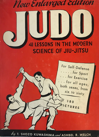 Judo. 41 lessons In The Modern Science Of Jiu-Jitsu Book by Shozo Kuwashima (Hardcover) (Preowned) - Budovideos Inc