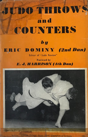 Judo Throws & Counters Book by Eric Dominy (Hardcover) (Preowned) - Budovideos Inc