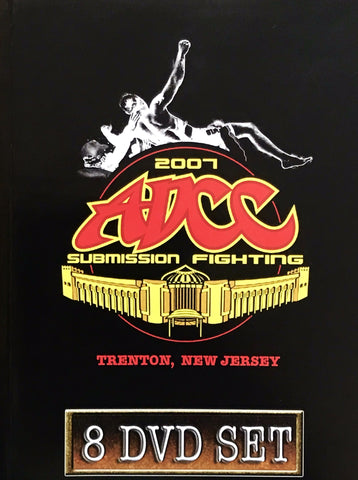 ADCC 2007 Complete 8 DVD Set - Budovideos Inc