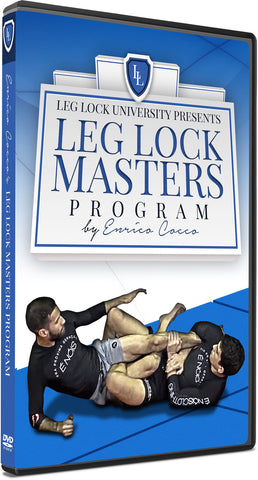 Leg Lock Masters Program 3 DVD Set by Enrico Cocco