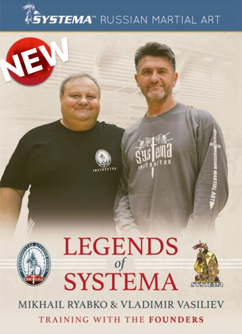 Legends of Systema DVD with Mikhail Ryabko & Vladimir Vasiliev - Budovideos