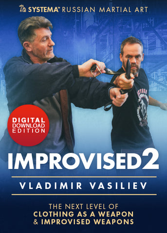 Improvised Vol 2 DVD: Next Level of Clothing as a Weapon by Vladimir Vasiliev