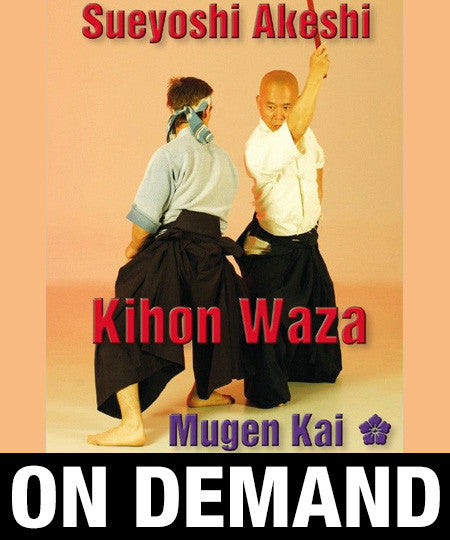 Iaido Kihon Waza by Sueyoshi Akeshi (On-Demand)