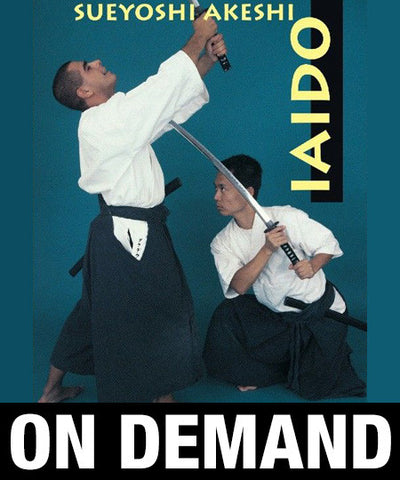 Iaido Volume 1 with Sueyoshi Akeshi (On-Demand) - Budovideos