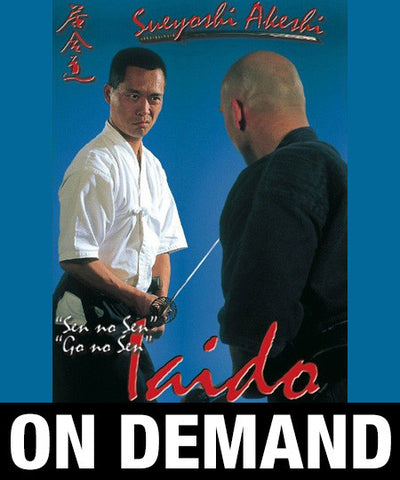 Iaido Volume 2 Sen No Sen, Go No Sen with Sueyoshi Akeshi (On-Demand) - Budovideos