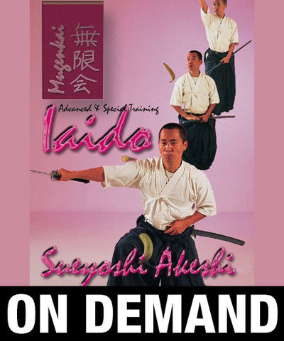Iaido Volume 3 Mugenkai with Sueyoshi Akeshi (On-Demand)