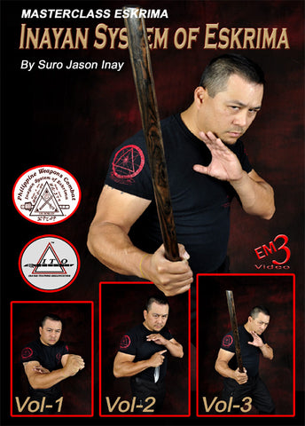 Inayan System of Eskrima 3 DVD Set with Jason Inay - Budovideos