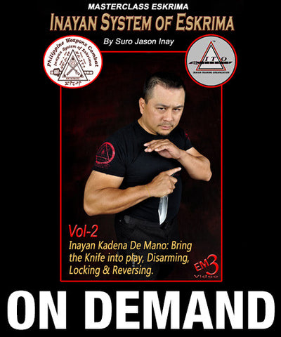 Inayan System of Eskrima Vol 2 with Jason Inay (On Demand)