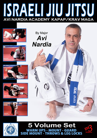 Israeli Jiu-Jitsu 5 DVD Set with Major Avi Nardia - Budovideos