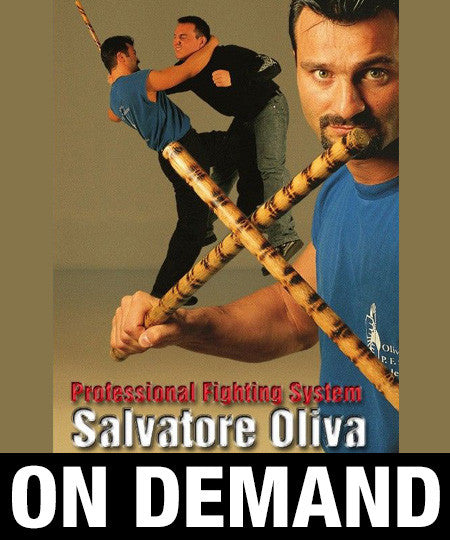 JKD Profesional Fighting System by Salvatore Olivia (On Demand)