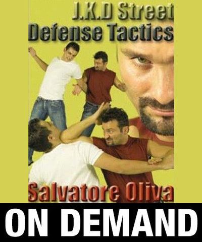 JKD Street Defense Tactics by Salvatore Olivia (On Demand)