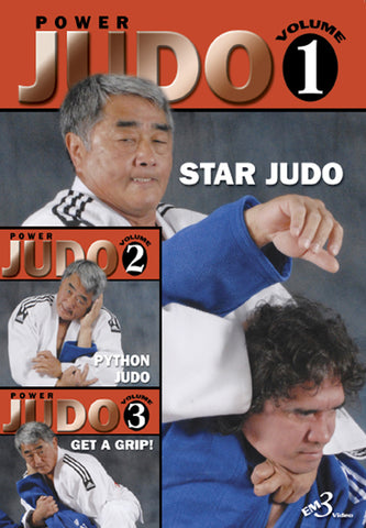 Power Judo Vol. 1, 2, & 3 By Hayward Nishioka