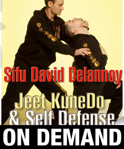 Jeet Kune Do Self Defense with David Delannoy (On Demand) - Budovideos