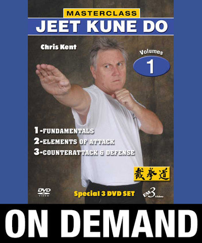 Masterclass Jeet Kune Do Vol-1 by Chris Kent (On Demand)