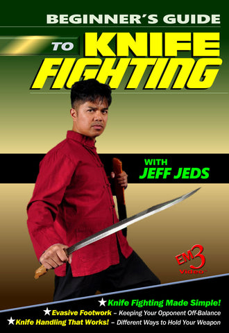 Beginner's Guide To Knife Fighting DVD By Jeff Jeds - Budovideos