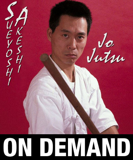 Photo Cover - Jo Jutsu with Sueyoshi Akeshi (On Demand)