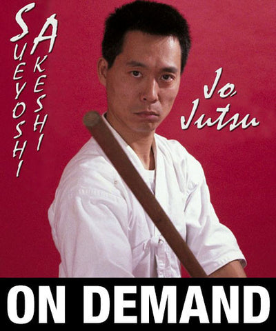 Jo Jutsu with Sueyoshi Akeshi (On Demand)