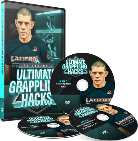 Ultimate Grappling Hacks 3 DVD Set by Joe Lauzon