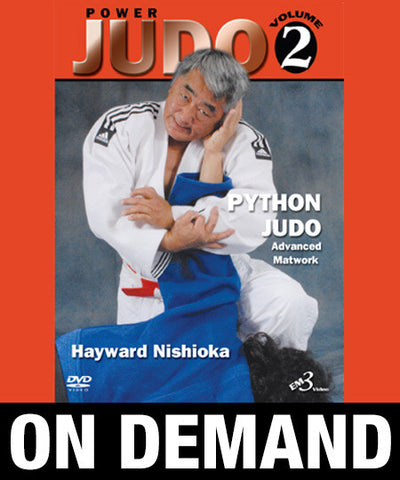 Power Judo Vol-2 by Hayward Nishioka (On Demand)