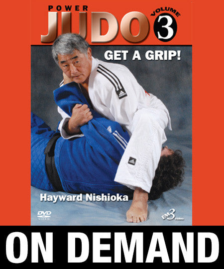 Power Judo Vol-3 by Hayward Nishioka (On Demand)