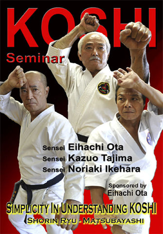 DVD Cover - Koshi Shorin Ryu Karate Seminar DVD by Eihachi Ota
