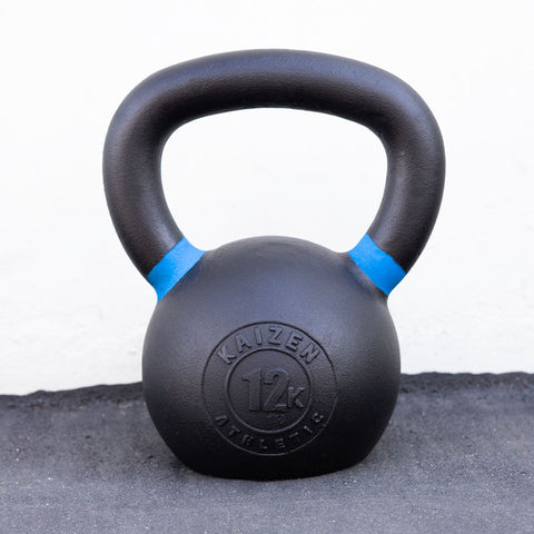 Kaizen Athletic Kettle Bell 12kg Front