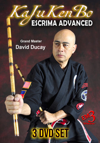 KaJuKenBo Escrima Advanced 3 DVD Set by David Ducay