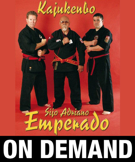 Kajukenbo Emperado by Adriano Emperado (On Demand) - Budovideos