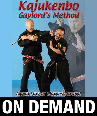 Kajukenbo Gaylord's Method by Charles Gaylord (On Demand) - Budovideos