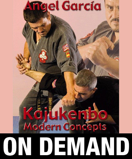 Kajukenbo Modern Concepts by Angel Garcia (On Demand)