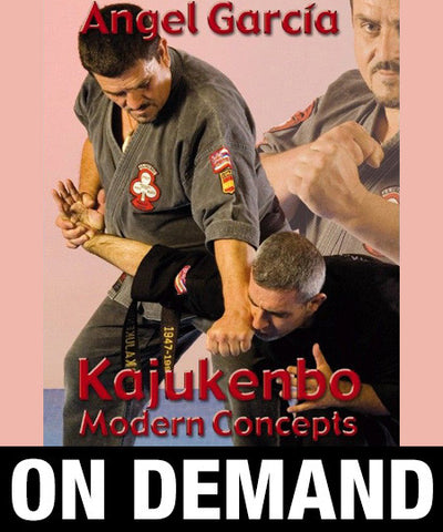 Kajukenbo Modern Concepts by Angel Garcia (On Demand) - Budovideos