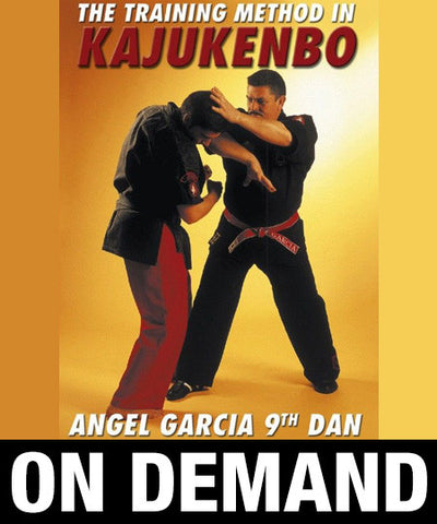 Kajukenbo Vol 2 The Training Method by Angel Garcia (On Demand) - Budovideos