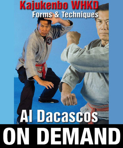 Kajukenbo WHKD Forms and Techniques by Al Dacascos (On Demand) - Budovideos