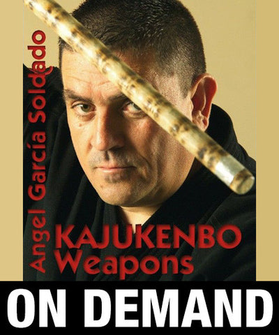 Kajukenbo Weapons by Angel Garcia (On Demand) - Budovideos