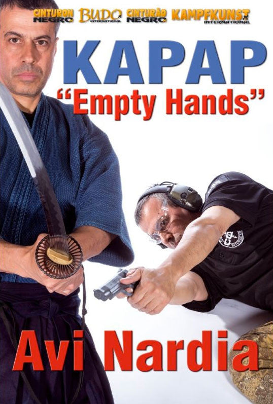 DVD Cover - Kapap Empty Hands DVD with Avi Nardia