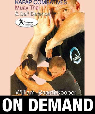 Kapap Combatives Muay Thai Self Defense by William Paardekooper (On Demand) - Budovideos