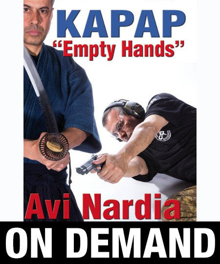 Kapap Empty Hands by Avi Nardia (On Demand)