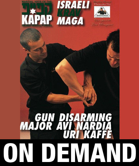 Kapap Lotar Krav Maga Gun Disarming by Avi Nardia (On Demand) - Budovideos