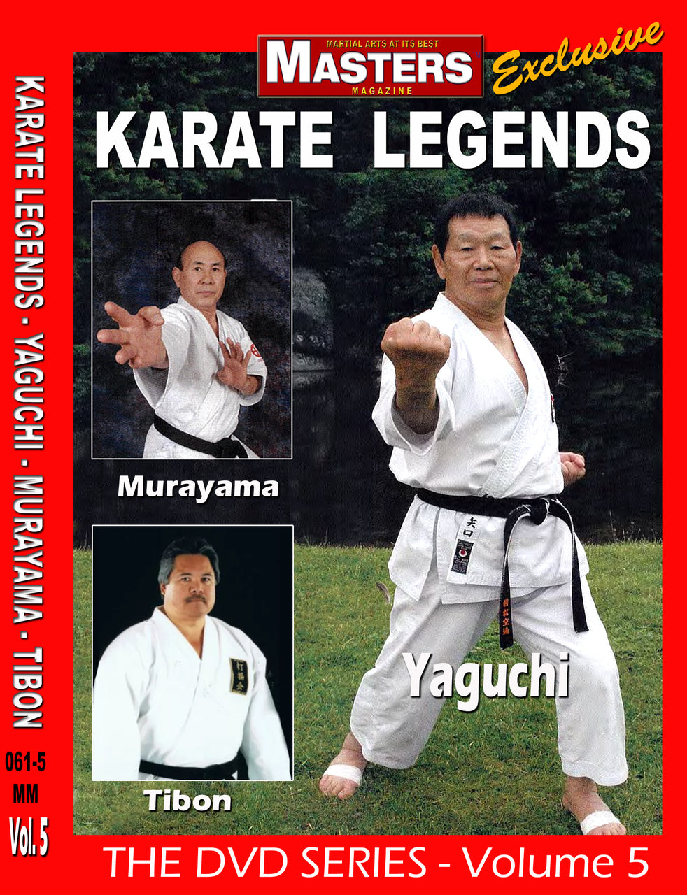 Karate Legends DVD 5 with Yaguchi, Murayama & Tibon