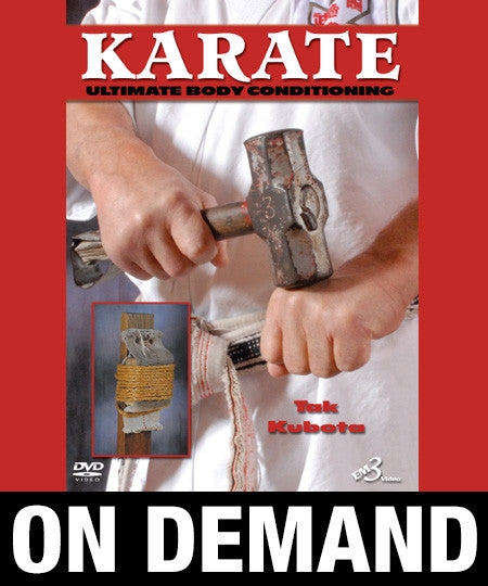 Karate Ultimate Body Conditioning by Tak Kubota (On Demand) - Budovideos