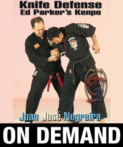 Kenpo Knife Defense by Juan Jose Negreira (On Demand) - Budovideos